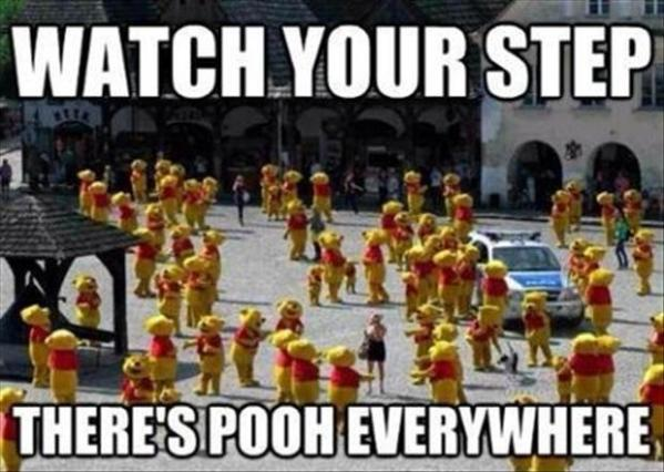 Piles of Pooh